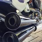 Thunderbike SlashComp Endkappen gepulvert