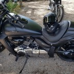 Mr T. Motorrad