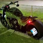 Nightshot, und sicht auf das leuchtkennzeichen