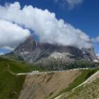 Sella Joch Dolomiten