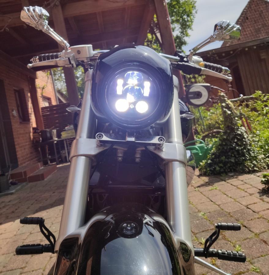 Neuer LED Einsatz für Molly