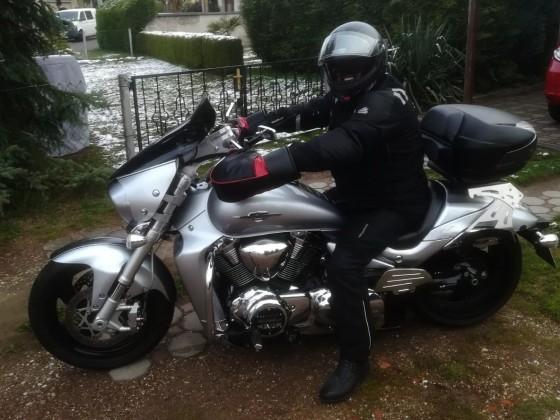 als Weichei kann ich auch bei 2°C ohne Handschuhe fahren ;-)))